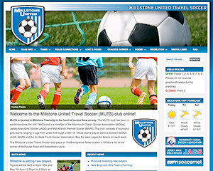 Travel Soccer Web Site