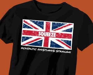 Squeeze Tour Shirt Design