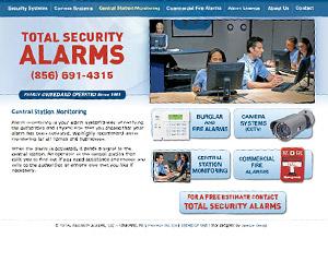 Alarm Company Web Site