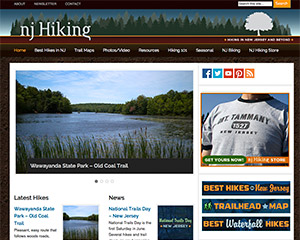 NJ Hiking Web Site