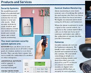 Alarm Company Brochure